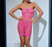 seamlesss stretch mini dress
