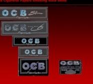 O.C.B rolls – the full range