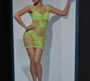 seamless mini dress