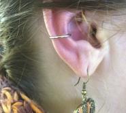 Orbital snug piercing