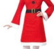 santa dress& hat